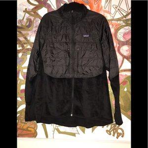 Patagonia full zip fleece jacket black XXL
